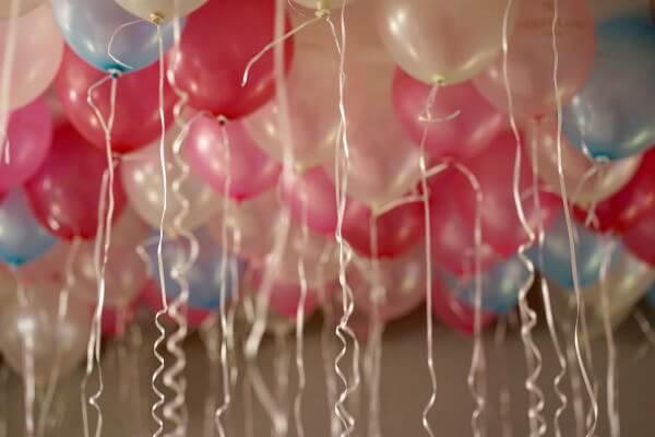 Balloner er ideelle til alle fester